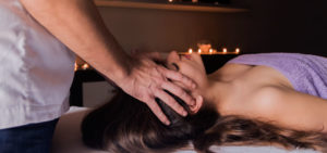Indian Oil Head Massage